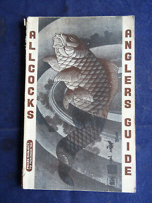 A Vintage Allcocks Advertising Fishing Catalogue For Circa 1956/57 • 19.99£