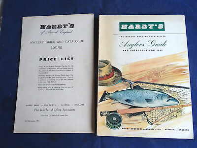 Vintage Hardy Advertising Fishing Catalogue Anglers Guide For 1962 + Price List • 22.99£