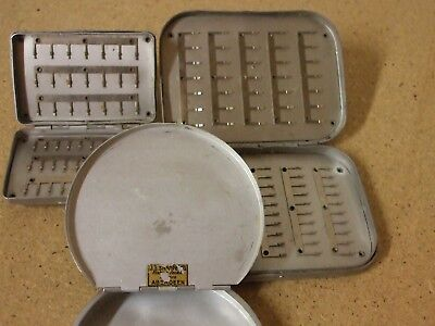 Vintage Fly Box/ Cast Tin Collection • 29.95£