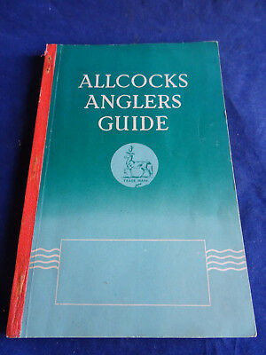 A Vintage Allcocks Advertising Fishing Catalogue For 1939/40 • 37.99£
