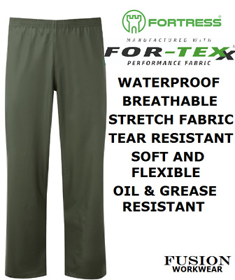 Fishing / Angling Waterproof Trousers,airflex Breathable,supple,soft, Carp, Sea • 16.95£