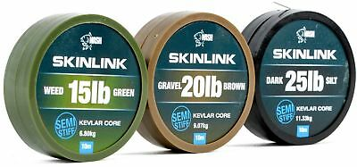 Nash Skinlink Coated Braid Hooklink Skin Link Hook Link Full Range • 9.99£