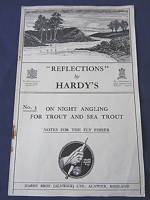 Scarce Vintage Hardy Advertising Booklet  Reflections  No.3 • 24.99£