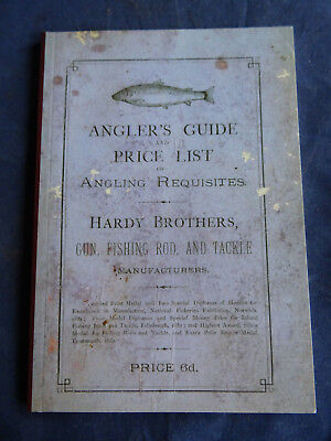 A John Dreweatt Modern Reproduction Hardy 1883 Advertising Fishing Catalogue  • 24.99£
