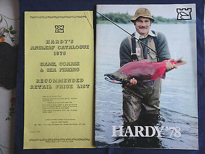 Vintage Hardy Advertising Fishing Catalogue Tackle Guide For 1978 + Price List • 18.99£