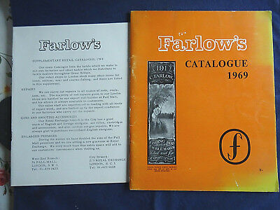 A Good Vintage Farlow's Advertising Fishing Catalogue For 1969 • 16.99£