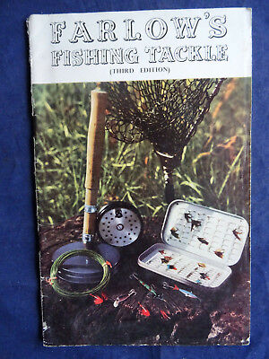 A Good Vintage Farlow's Advertising Fishing Catalogue For 1956 • 19.99£