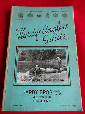 A Very Good Vintage Hardy Advertising Fishing Catalogue Anglers Guide 1951 • 34.99£