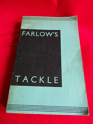 A Very Good C Farlow Advertising Fishing Catalogue 93rd Edition  (circa 1932) • 45.99£