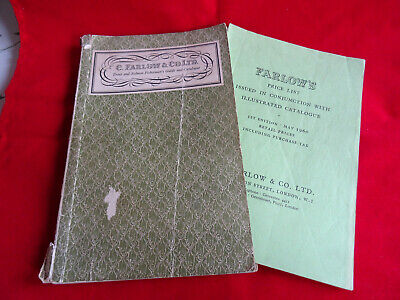 A Vintage C Farlow Advertising Fishing Catalogue + Price List For 1960 • 15.99£