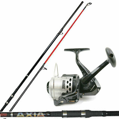 Tronixpro Axia 12ft 2Piece Beachcaster / Pier Sea Fishing Rod & Axia 7000 Reel • 145.95£