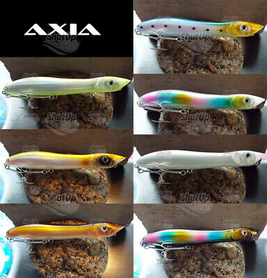 Axia Canine Patchinko Style Topwater Bass Fishing Lures 135mm 26g • 8.98£