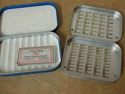 2 Off  Aluminum Wheatley  Fly Boxes... • 29.95£