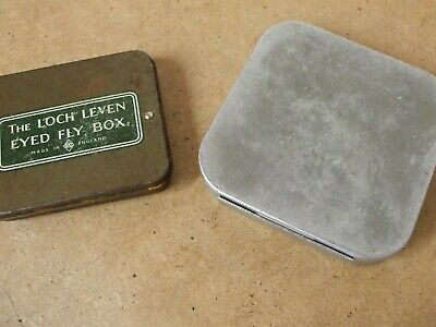 2 Off  Vintage Aluminium Fly / Cast Boxes...  *** Rare *** • 29.95£