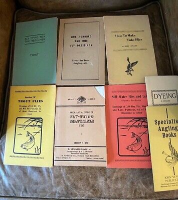 Vintage E. Veniard Fly Tying Materials + Books Fly Fishing Auction House Find • 12.99£