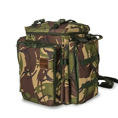 Saber Camo Rucksack Backpack Fishing Camping Bag DPM Hiking Travel Carp Tackle • 49.99£