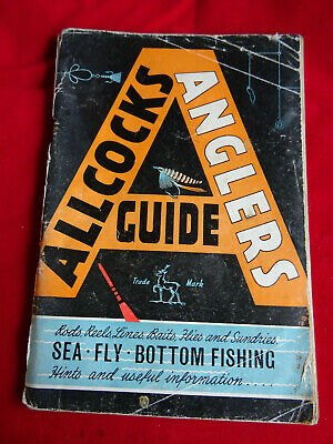 An Allcocks Advertising Fishing Catalogue Anglers Guide For Season 1962/63 • 14.99£