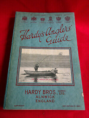 A Super Vintage Hardy Advertising Fishing Catalogue Anglers Guide 1937 • 49.99£