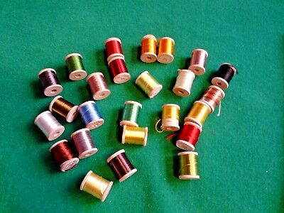 Vintage Fishing - Danville's Acetate Floss X25 Fly Tying Material • 35£