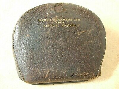 Vintage HARDY Heavy Quality Leather Cast / Fly Pouch      ** Very Very Rare*** • 59.95£