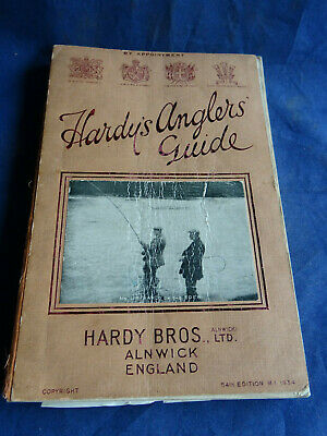 A Good Vintage Hardy Advertising Fishing Catalogue Anglers Guide For 1934 • 34.99£