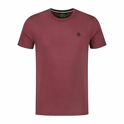 Korda LE Scaley Burgundy T-Shirt With Black Print *All Sizes Available* • 19.99£