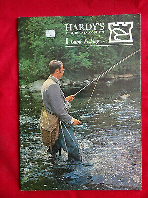 A Good Vintage Hardy Advertising Game Fishing Catalogue Anglers Guide For 1971 • 16.99£