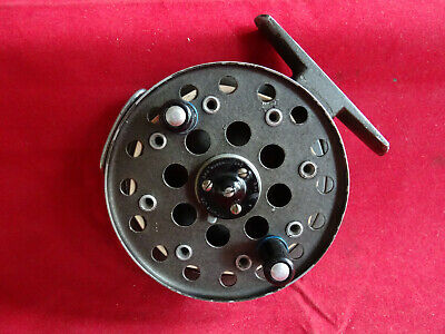 A Vintage 3 5/8  Grice & Young Avon Royal (rare Left Hand Wind) Centrepin Reel • 69.99£