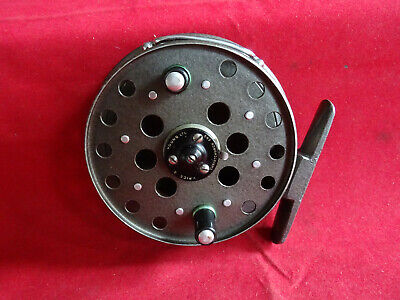 A Nice Vintage 3 5/8  Grice & Young Gypsy Dargent Centrepin Reel • 69.99£