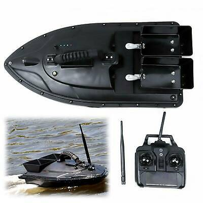 500M Wireless RC Fishing Bait Boat 2 Motors Fish Finder Single Hand Control • 169.99£