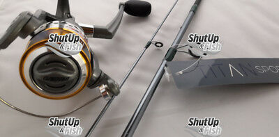 Grauvell Titan Sport Fishing Rod And Reel Pro Light Spinning Combo 6ft 3-15g • 35.99£