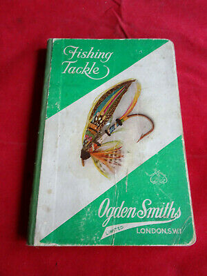 Scarce Vintage Ogdon Smith Advertising Fishing Catalogue Circa 1934 • 34.99£