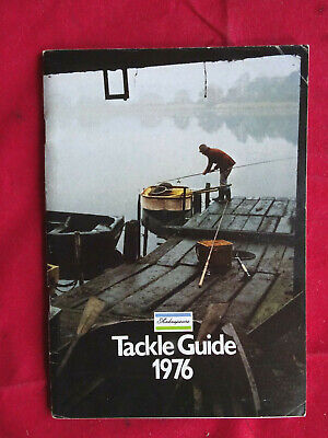 Vintage Shakespeare Tackle Guide Fishing Advertising Catalogue For 1976 • 11.99£