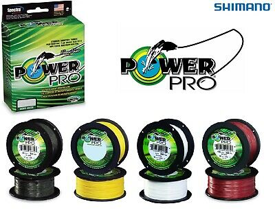 Shimano Power Pro Braided Line - *All Types* - BEST PRICE - Pike Lure Fishing • 49.98£