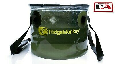 Ridge Monkey Perspective Collapsible Bucket 10 Litre New • 11.99£