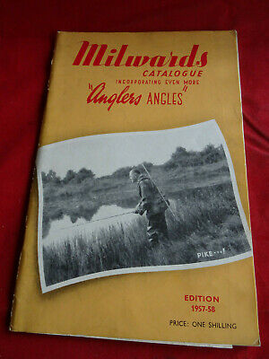 Scarce Milwards Fishing Catalogue For 1957/58 • 17.99£