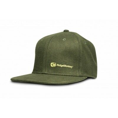 Ridgemonkey Apearel Dropback Snapback Cap Grey Or Green Ridge Monkey • 11.99£
