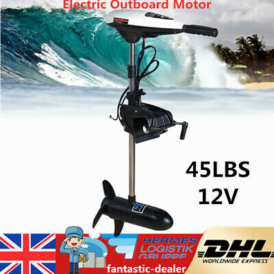 45LBS 12V Kayak Electric Outboard Trolling Motor Fishing Boat Dingy Canoe Enigne • 128£