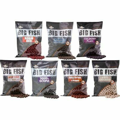 Dynamite Baits Big Fish 15mm Boilies -*All Flavours Available*- 1.8kg Bag • 13.98£