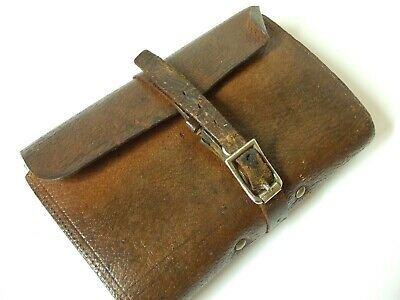 Vintage Early HARDY BROTHERS Leather Fly Cast Wallet  *** Lovely Condition *** • 79.95£