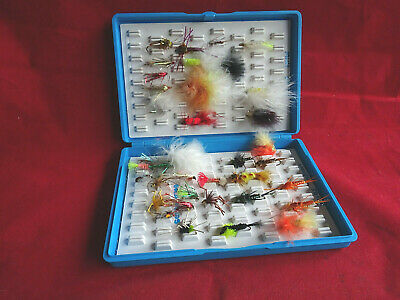 A Good Fox Box Fly Box With Good Collection Of Flies/lures • 23.99£