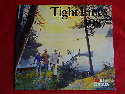Abu Tight Lines Advertising Fishing Catalogue 1987 • 13.99£