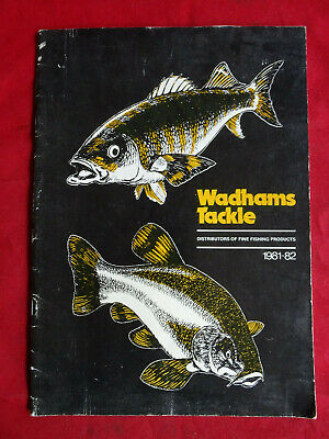 A Scarce Wadhams 1981/82 Fishing Catalogue • 16.99£