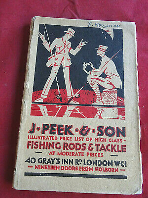 A Scarce Vintage J Peek & Son Fishing Catalogue Circa Late 1920's • 19.99£