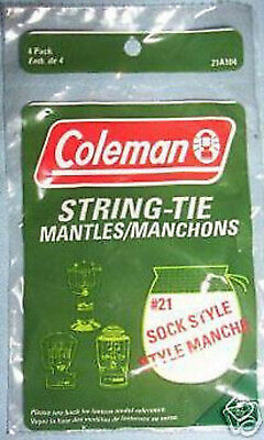 Coleman Powerhouse Lantern Mantles (4 Mantles) • 5.85£