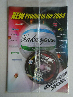 A Vintage Shakespeare Catalogue For 2004, Sealed/unopened With Dvd • 9.99£