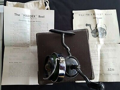 """Hardy Of Alnwick """"The Hardex No.1 Mk1"""" Threadline Spinning Reel, Excellent Cond. • 119£"""