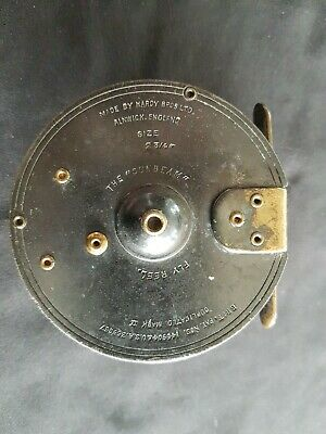 An Early Hardys  The Sunbeam  2-3/4  Duplicated MK 2 Fly Reel In Excellent Cond. • 159£