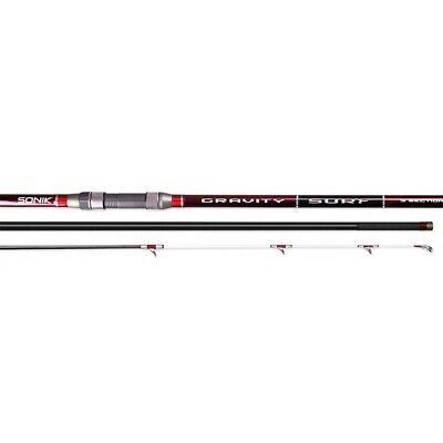Sonik Gravity Surf 3-Piece Beachcaster/Surfcasting Rods - Both Models Available! • 330£