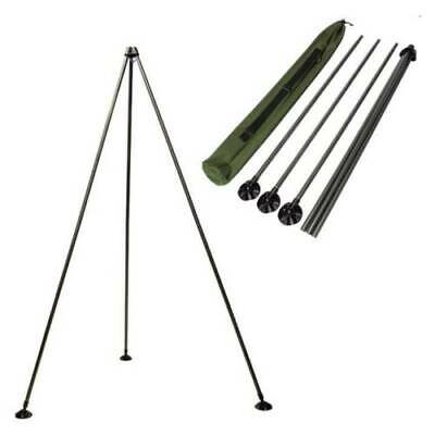 Carp Fishing Weighing Tripod System With Large Mud Feet And Case  • 27.94£